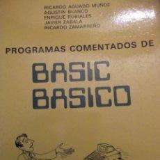 Antigüedades: LIBRO BASIC BASICO CURSO DE PROGRAMAS COMENTADOS. Lote 249030000
