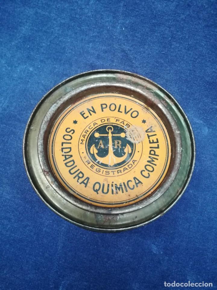 Antigüedades: ANTIGUA MÁQUINA DE TALLER DE CARPINTERÍA PARA SOLDAR LAS SIERRAS DE CINTA - PIEZA DE MUSEO - Foto 14 - 249047240