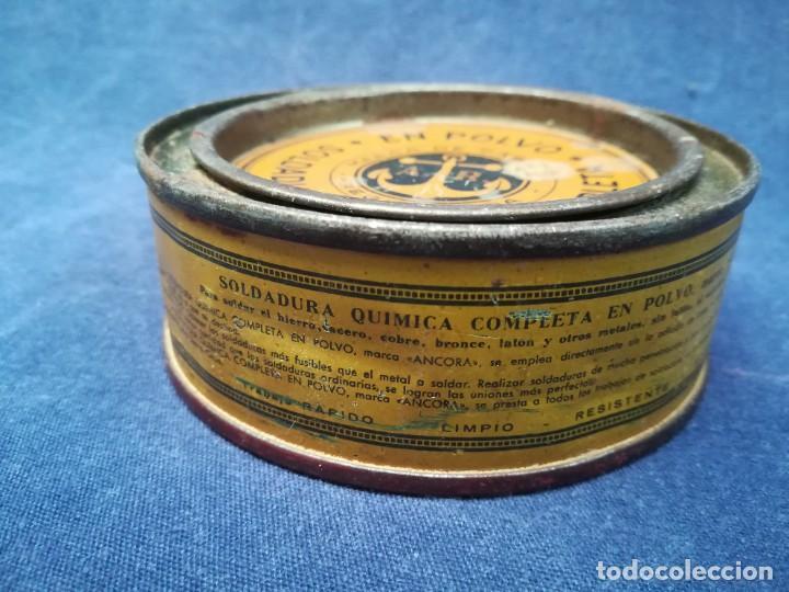 Antigüedades: ANTIGUA MÁQUINA DE TALLER DE CARPINTERÍA PARA SOLDAR LAS SIERRAS DE CINTA - PIEZA DE MUSEO - Foto 15 - 249047240