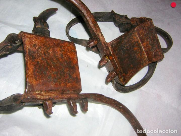 Antigüedades: TREPADORES ANTIGUOS FORJADOS PARA SUBIR POSTES - Foto 5 - 249165245