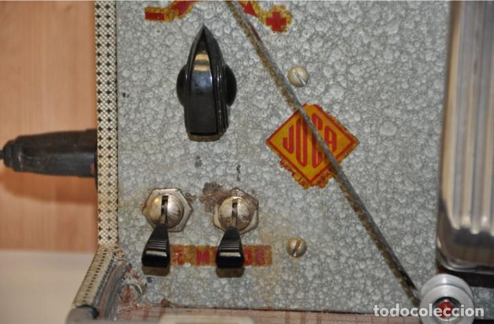 Antigüedades: ANTIGUO PROYECTOR DE CINE 8 MM JUCA - Foto 10 - 249212030