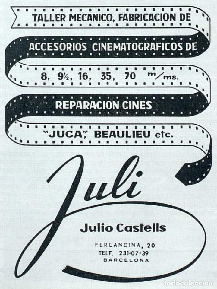 Antigüedades: ANTIGUO PROYECTOR DE CINE 8 MM JUCA - Foto 12 - 249212030