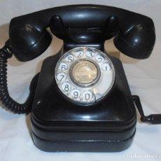 Teléfonos: TELEFONO MUY ANTIGUO A MANIVELA. Lote 249228930