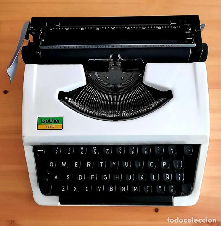 MAQUINA DE ESCRIBIR MANUAL BROTHER 100 (Antigüedades - Técnicas - Máquinas de Escribir Antiguas - Continental)