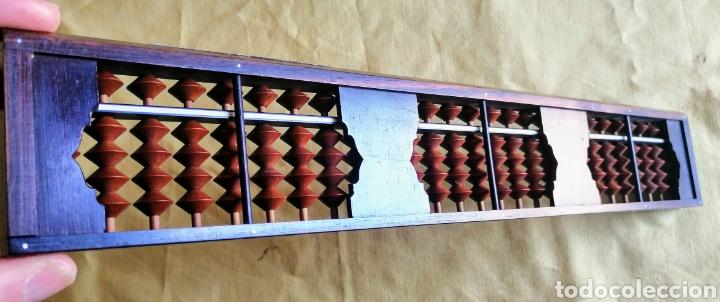 Antigüedades: ABACO JAPONES - SOROBAN - EL ENVIO CERTIFICADO ESTA INCLUIDO. - Foto 5 - 249295965