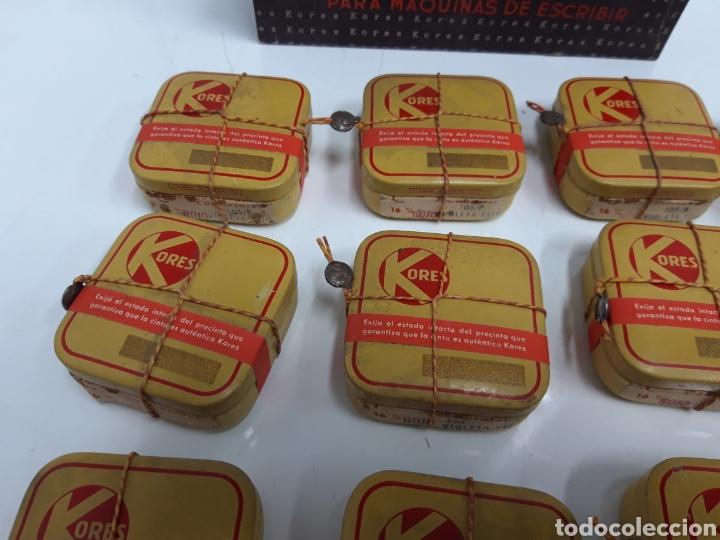 Antigüedades: Caja con 12 cintas antiguas maquina continental 16 mm. - Foto 4 - 248787010