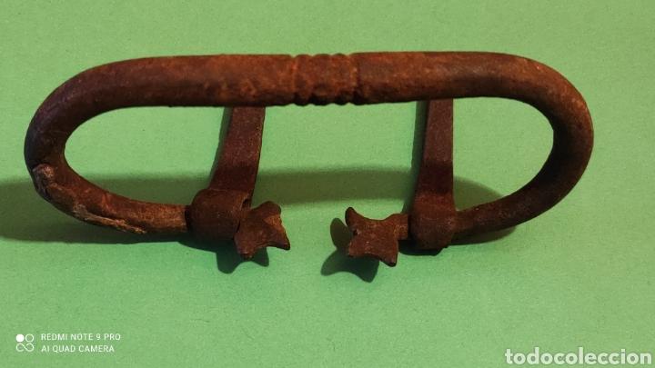 Antigüedades: Tirador de hierro. Forja. - Foto 2 - 249474955