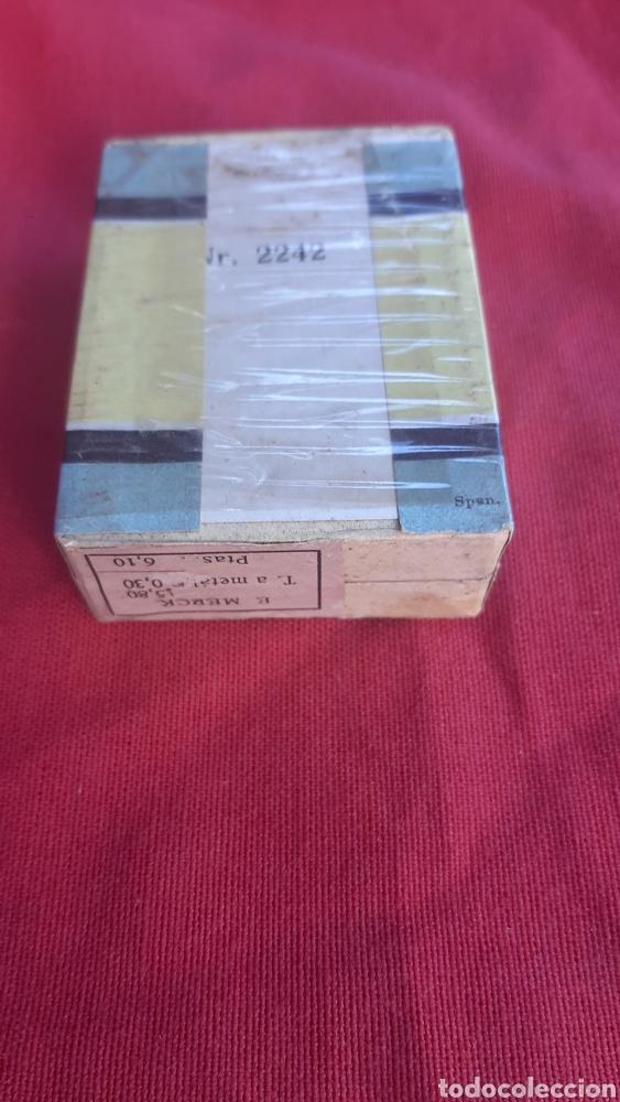 Antigüedades: antigua caja de farmacia - Foto 3 - 249521020