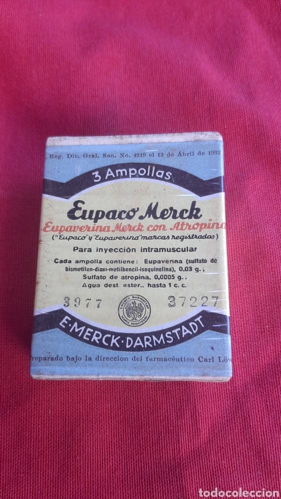 ANTIGUA CAJA DE FARMACIA (Antigüedades - Técnicas - Herramientas Profesionales - Medicina)