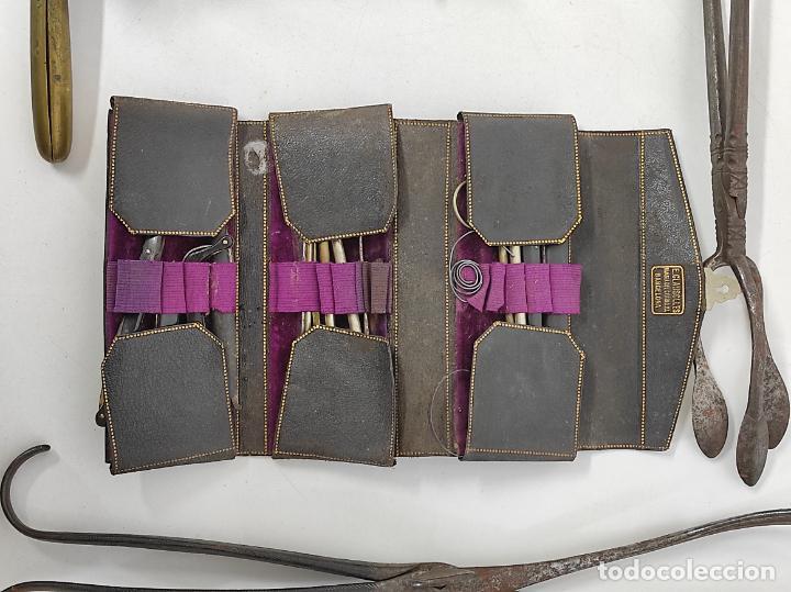 Antigüedades: Estuches Portátiles José Clausolles, Barcelona - Material Medico, Cirugía y Ginecología - S. XIX - Foto 16 - 249541185
