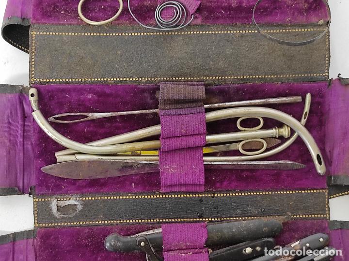 Antigüedades: Estuches Portátiles José Clausolles, Barcelona - Material Medico, Cirugía y Ginecología - S. XIX - Foto 19 - 249541185