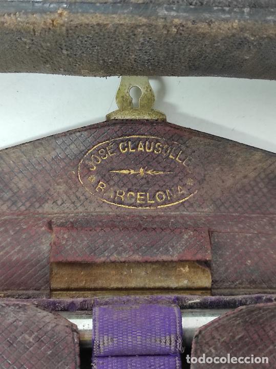 Antigüedades: Estuches Portátiles José Clausolles, Barcelona - Material Medico, Cirugía y Ginecología - S. XIX - Foto 21 - 249541185