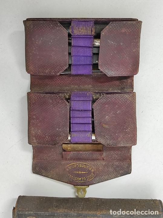 Antigüedades: Estuches Portátiles José Clausolles, Barcelona - Material Medico, Cirugía y Ginecología - S. XIX - Foto 22 - 249541185