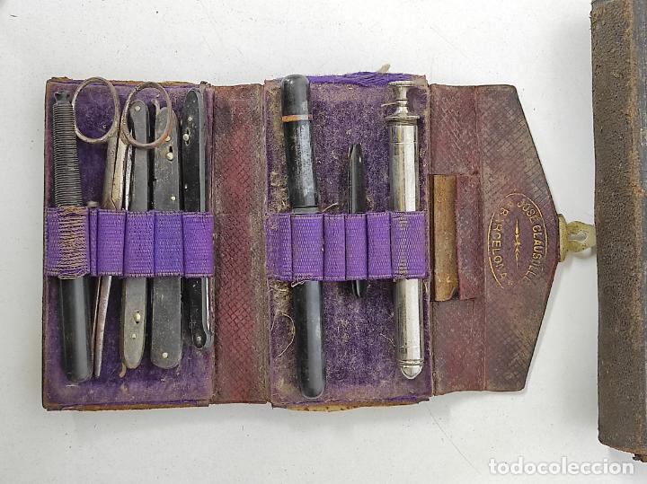 Antigüedades: Estuches Portátiles José Clausolles, Barcelona - Material Medico, Cirugía y Ginecología - S. XIX - Foto 24 - 249541185