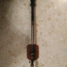 Antigüedades: BARÓMETRO, TERMÓMETRO DE BARCO. Lote 249591000