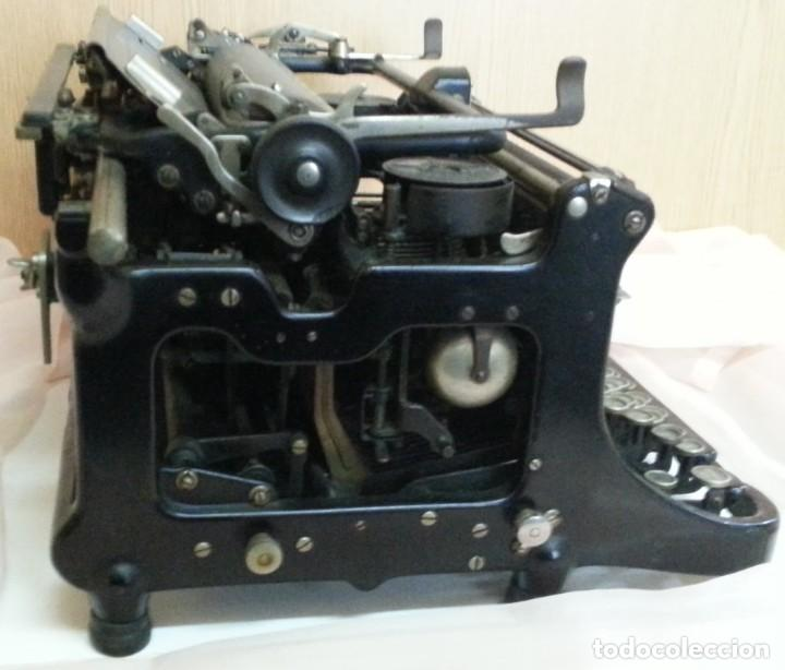 Antigüedades: Máquina de escribir antigua. Marca Continental. Buen estado. - Foto 8 - 250113785