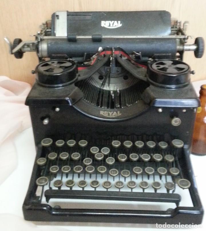 MÁQUINA DE ESCRIBIR ANTIGUA. MARCA ROYAL. OLD WRITING MACHINE (Antigüedades - Técnicas - Máquinas de Escribir Antiguas - Royal)