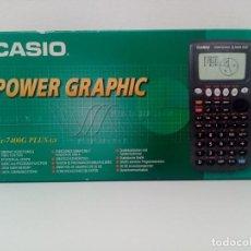 Antiquités: CALCULADORA CASIO POWER GRAPHIC FX-7400 PLUS-GY. Lote 250152020