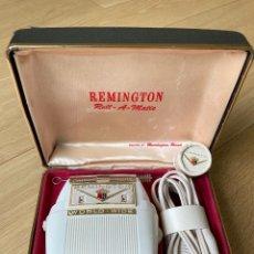 Antigüedades: MAQUINA DE AFEITAR ELECTRICA REMINGTON MADE IN USA.. Lote 250259410