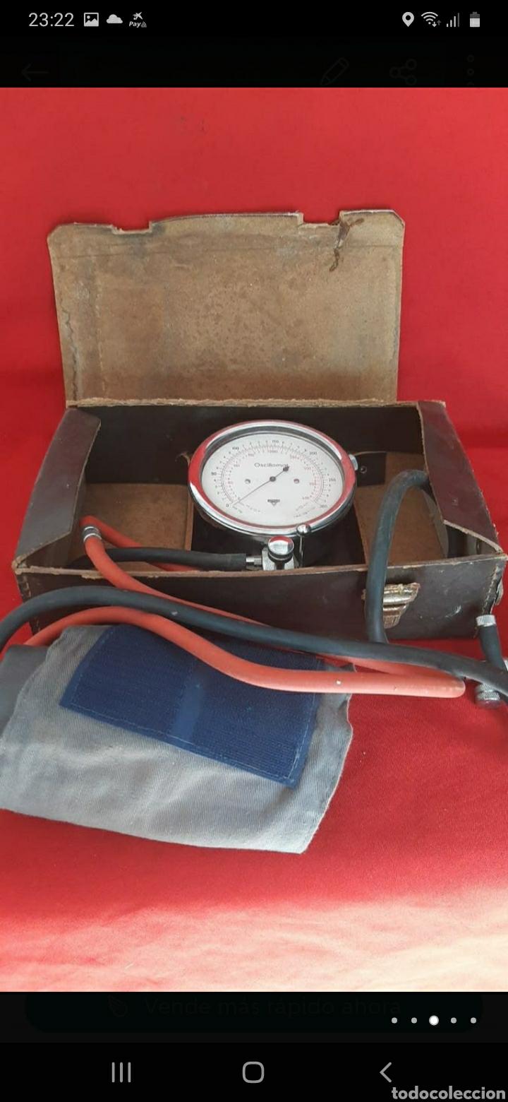 Antigüedades: antiguo oscillometro aleman - Foto 3 - 250264600