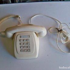 Teléfonos: ANTIGUO TELÉFONO DE SOBREMESA DE COLOR CREMA, FABRICADO POR CITESA, MALAGA. Lote 251096815