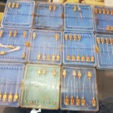 Antigüedades: LOTE ANTIGUAS AGUJAS JERINGUILLA ICO MEDICO PRACTICANTE. Lote 251133190