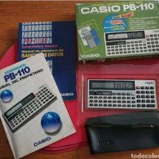 Antigüedades: CALCULADORA ANTIGUA CASIO PB-110 PERSONAL COMPUTER.. Lote 251182605