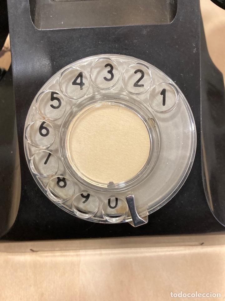 Teléfonos: Magnifico teléfono de baquelita negro inglés - Foto 2 - 251432700