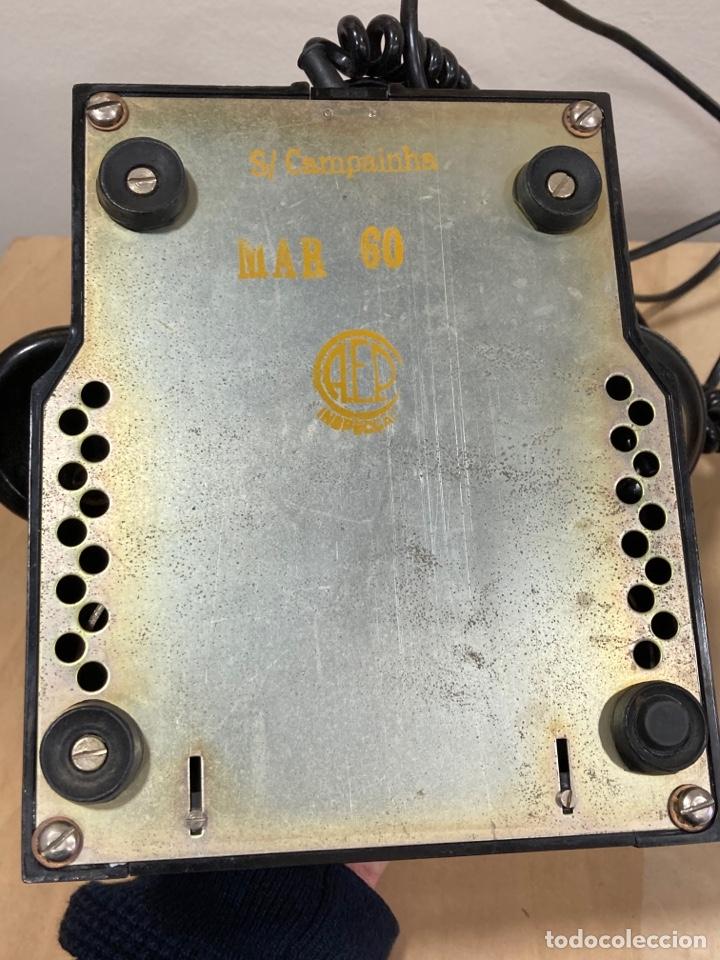 Teléfonos: Magnifico teléfono de baquelita negro inglés - Foto 4 - 251432700