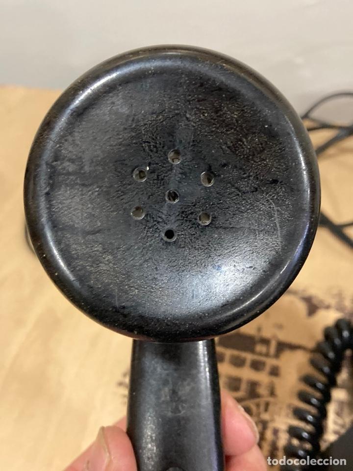 Teléfonos: Magnifico teléfono de baquelita negro inglés - Foto 7 - 251432700