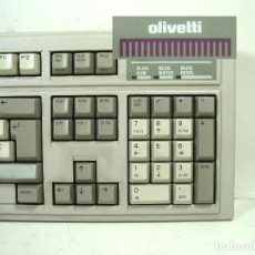 Oggetti Antichi: ANTIGUO TECLADO OLIVETTI - ANK 27-102 N ITALY - ORDENADOR PC COMPUTADORA VINTAGE OLIVETI. Lote 251466385