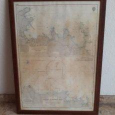 Antigüedades: HYDROGRAPHIC OFFICE MAP 1967. COSTA DE ARABIA. MUSCAT. CARTA NAVEGACIÓN INGLESA. ALMIRANTE RITCHIE. Lote 251509005