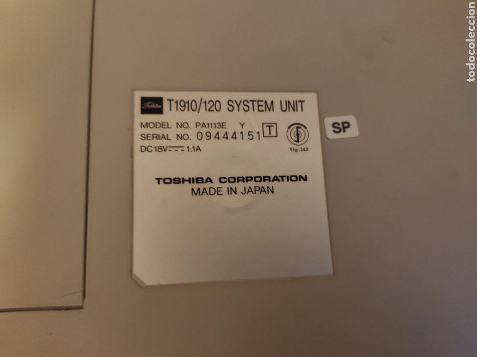 Antigüedades: Toshiba notebook T1910 / 120 antiguo ordenador portatil PC DOS WINDOWS 3.1 - LEER DESCRIPCION - Foto 12 - 251694335