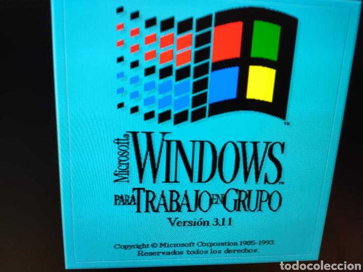 Antigüedades: Toshiba notebook T1910 / 120 antiguo ordenador portatil PC DOS WINDOWS 3.1 - LEER DESCRIPCION - Foto 17 - 251694335