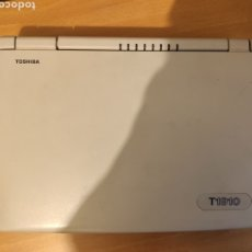 Antigüedades: TOSHIBA NOTEBOOK T1910 / 120 ANTIGUO ORDENADOR PORTATIL PC DOS WINDOWS 3.1 - LEER DESCRIPCION. Lote 251694335