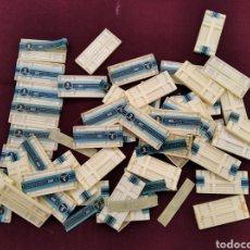Antigüedades: LOTE DE 48 ANTIGUAS CAJAS DE AGUJAS DE INYECCIÓN, METALICAS. Lote 251853745