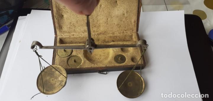 BASCULA ANTIGUA (Antigüedades - Técnicas - Medidas de Peso - Básculas Antiguas)