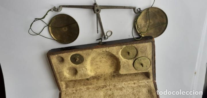 Antigüedades: Bascula antigua - Foto 2 - 251985230
