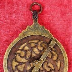 Antigüedades: ASTROLABIO ÁRABE. BRONCE CINCELADO. ÁFRICA(?). SIGLO XIX. Lote 252121430