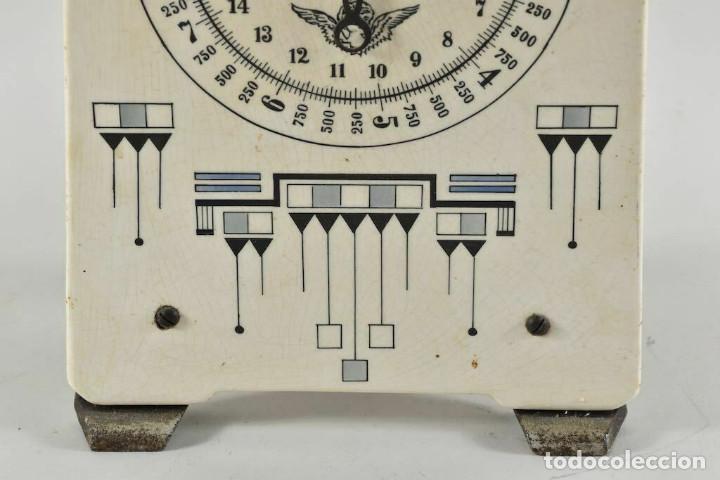 Antigüedades: ANTIGUA PRECIOSA BALANZA DE COCINA MODERNISMO ALEMAN FINALES DEL XIX MUY BUEN ESTADO - Foto 7 - 252183470