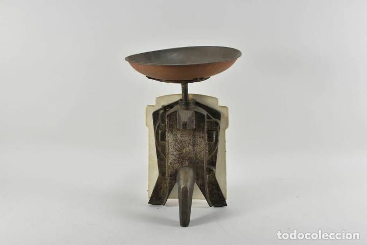 Antigüedades: ANTIGUA PRECIOSA BALANZA DE COCINA MODERNISMO ALEMAN FINALES DEL XIX MUY BUEN ESTADO - Foto 8 - 252183470