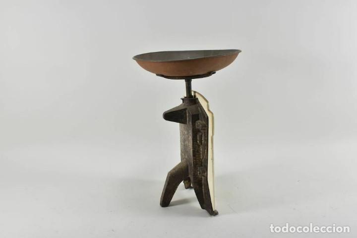 Antigüedades: ANTIGUA PRECIOSA BALANZA DE COCINA MODERNISMO ALEMAN FINALES DEL XIX MUY BUEN ESTADO - Foto 11 - 252183470