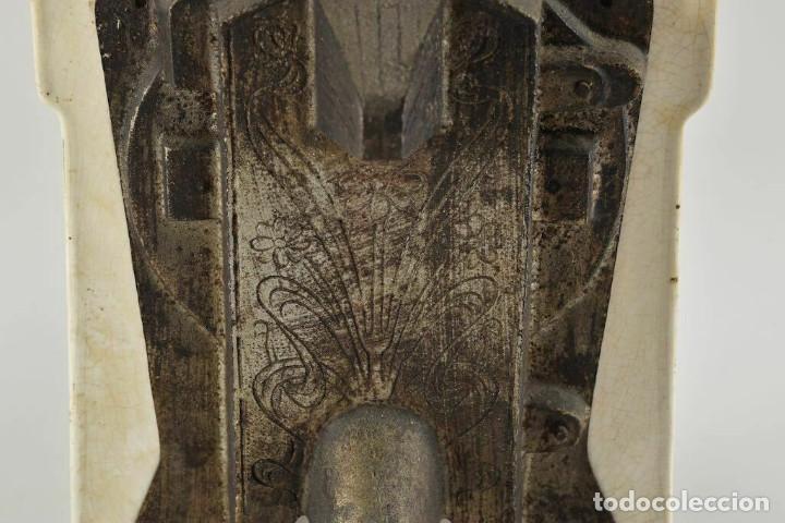 Antigüedades: ANTIGUA PRECIOSA BALANZA DE COCINA MODERNISMO ALEMAN FINALES DEL XIX MUY BUEN ESTADO - Foto 12 - 252183470