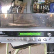 Antigüedades: EQUIPO MÚSICA VINTAGE BETTOR EF-450 DUAL TOCADISCOS Y RADIO FUNCIONANDO, 2 ALTAVOCES VIETA SP-20 -. Lote 252230020