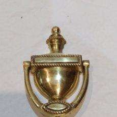 Antigüedades: ANTIGUO LLAMADOR DE BRONCE. Lote 252338720