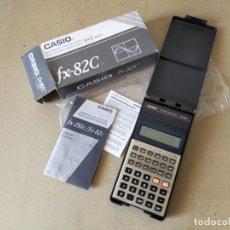 Antigüedades: CALCULADORA CIENTIFICA: CASIO FX-82C /8+2 DIGITOS. CON CAJA E INSTRUCCIONES. NUEVA EN FUNCIONAMIENTO. Lote 252344390