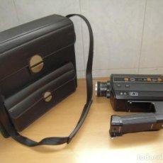 Antigüedades: CAMARA SONORA TOMAVISTAS FILMADORA SUPER8 SUPRAZOOM MADE IN JAPAN VINTAGE 1980 FUNCIONANDO. Lote 252461830