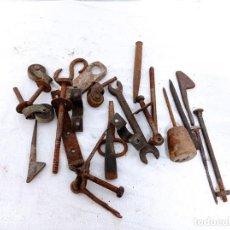 Antigüedades: LOTE DE ANTIGÜEDADES DE FORJA. Lote 252473425