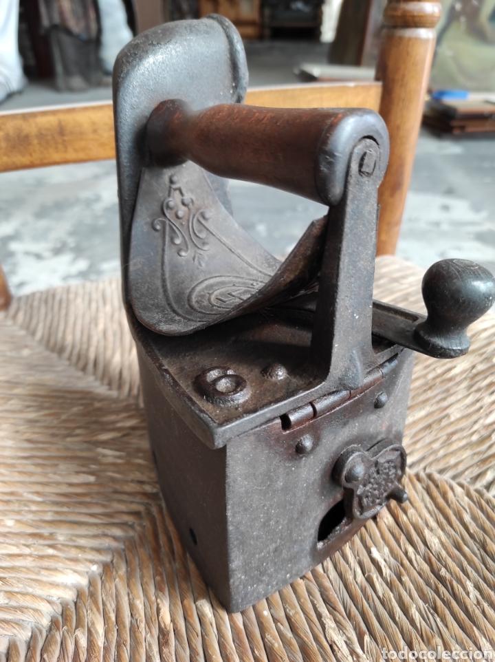 Antigüedades: ANTIGUA PLANCHA CON ESVASTICA FINALES XIX - Foto 5 - 252494040