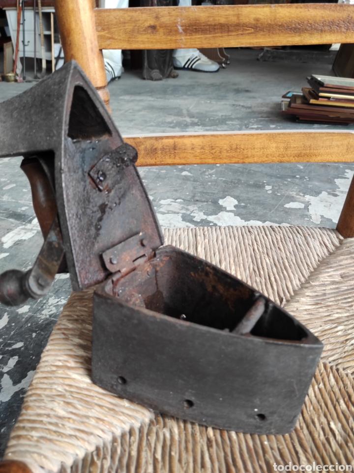 Antigüedades: ANTIGUA PLANCHA CON ESVASTICA FINALES XIX - Foto 8 - 252494040